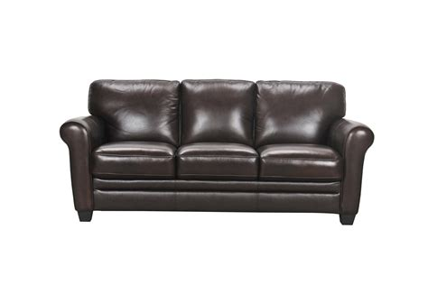 violino sofa violino 30960 30960 3p leather sofa with rolled arms