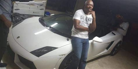 Buying My Lamborghini Stupid Southafrica Security Guard Who Was Part Of The O R