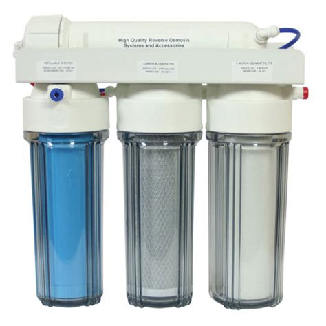 water filtration system 75gdp us 4 stage burtons