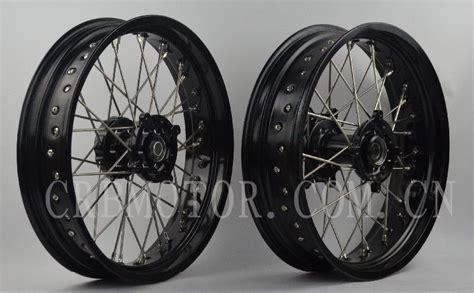 Suzuki Drz Wheels 17 Quot 17 Quot Suzuki Drz 400e S Sm Supermoto Motard Wheel Set