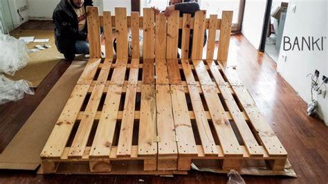 Creare Con I Bancali by Come Costruire Un Letto Con I Pallet Una Guida Utile