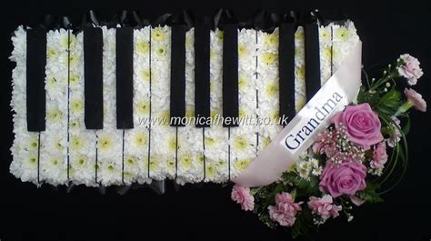 flower design with keyboard pin by kimi white on tributes pinterest