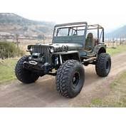 A Big Foot Willys Jeep  Enthusiast