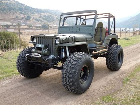 willys jeep offroad a big foot willys jeep jeep enthusiast