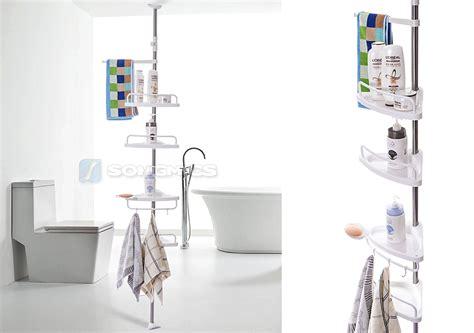 badezimmerwand regal ideen teleskopregal badezimmer surfinser