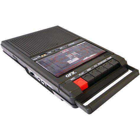 cassette recorders qfx shoebox recorder retro 39 b h photo