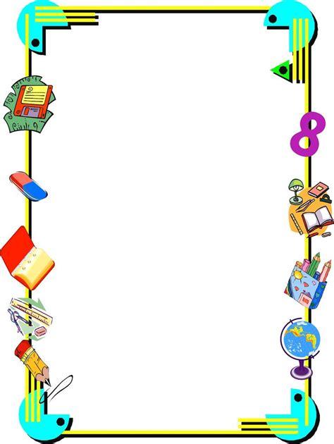 imagenes trabajos escolares 15 mejores im 225 genes de margenes decorativos en pinterest