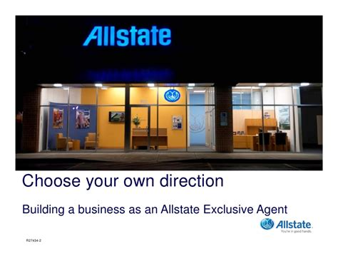 Allstate Corporate Office by Allstate Exclusive Insurance Agency Ownership Opportunity