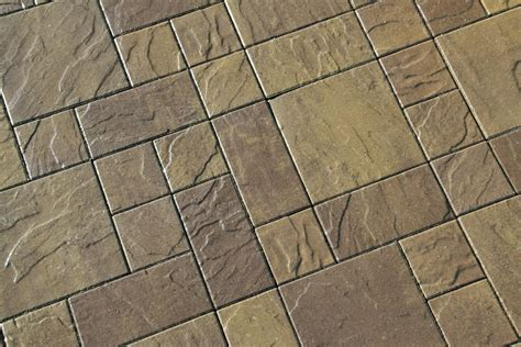 Flooring & Rugs: Decorative Basalite Pavers For Landscape