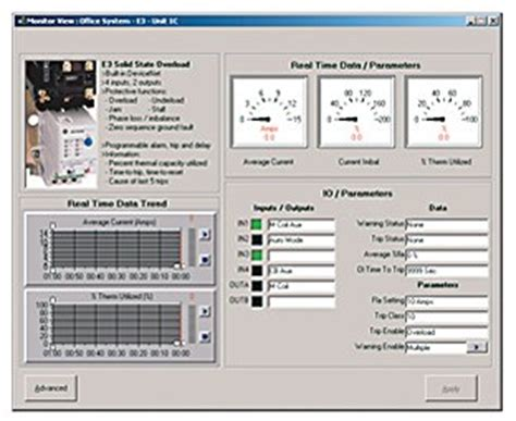 intellicenter software fuer motor control centers