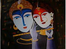 20 Modern Art Paintings Of Radha Krishna Unique Nail Designs Pinterest