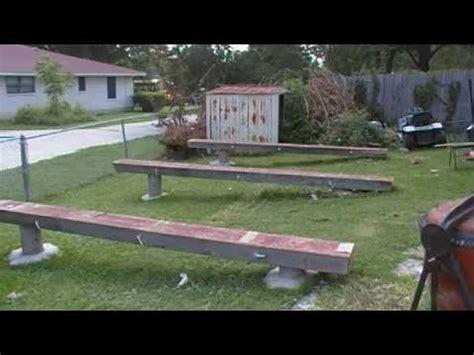 backyard shop pt  leveling  playing field youtube
