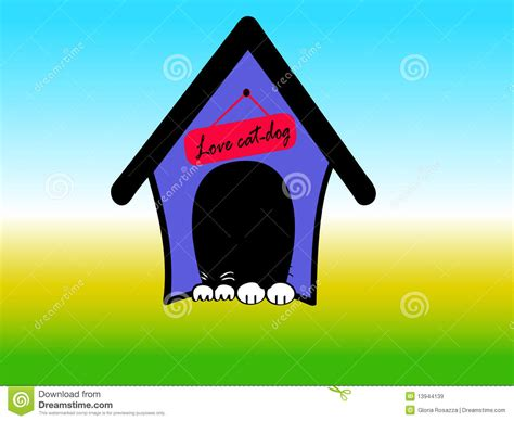dog house logo house dog logo royalty free stock images image 13944139