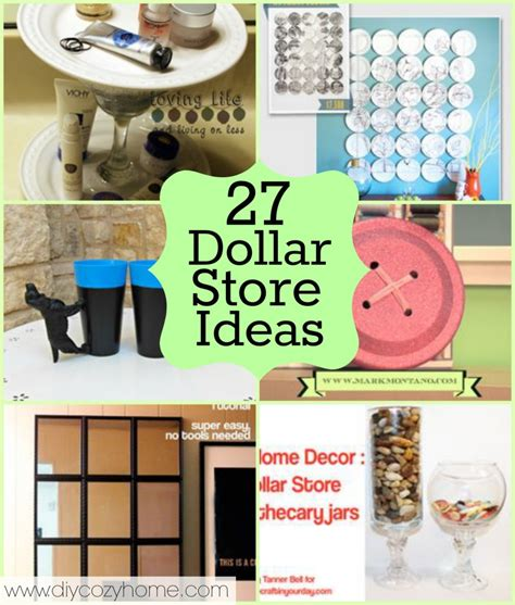 Dollar Store Bedroom Ideas 27 Dollar Store Craft Ideas Diy Cozy Home