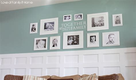 ideas for displaying pictures on walls family photo wall ideas www pixshark com images