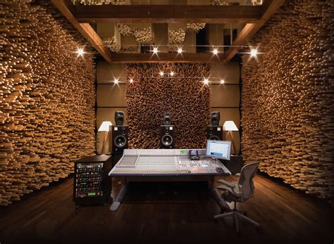 where to put acoustic diffusers in a recording studio