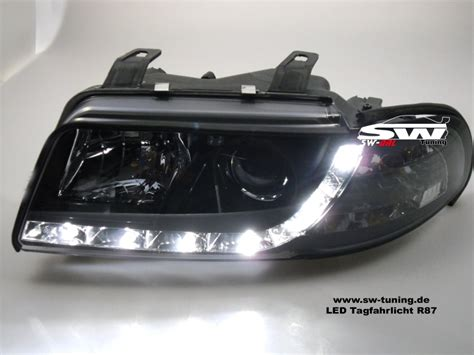 audi a4 headlights sw drl headlights audi a4 b5 95 98 daytime runing light
