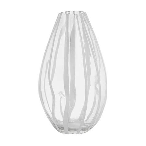vaso vetro vaso vetro artigianale decorazione a righe coincasa