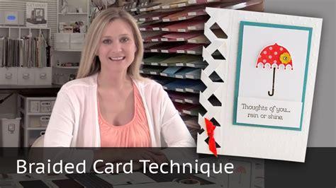 carding tutorial video braided card technique video tutorial youtube