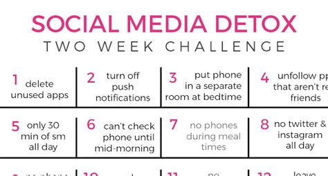 Social Media Detox App by Two Week Social Media Detox Challenge And Marriage