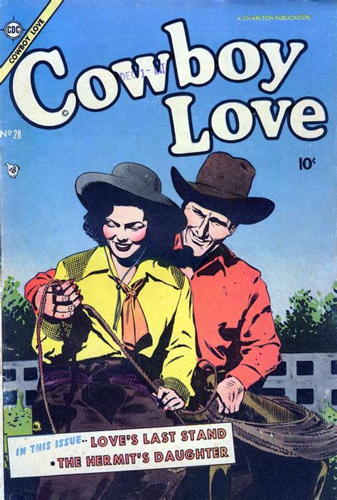 luckiest cowboy of all two books for the price of one happy books cowboy 28 charlton comic book plus