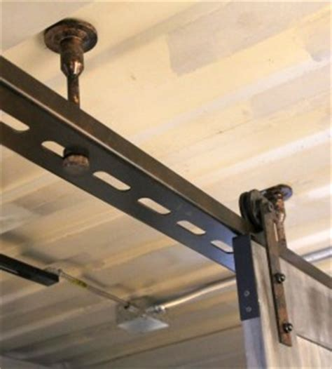 Sliding Barn Doors Ecustomfinishes Ceiling Mount Barn Door Hardware
