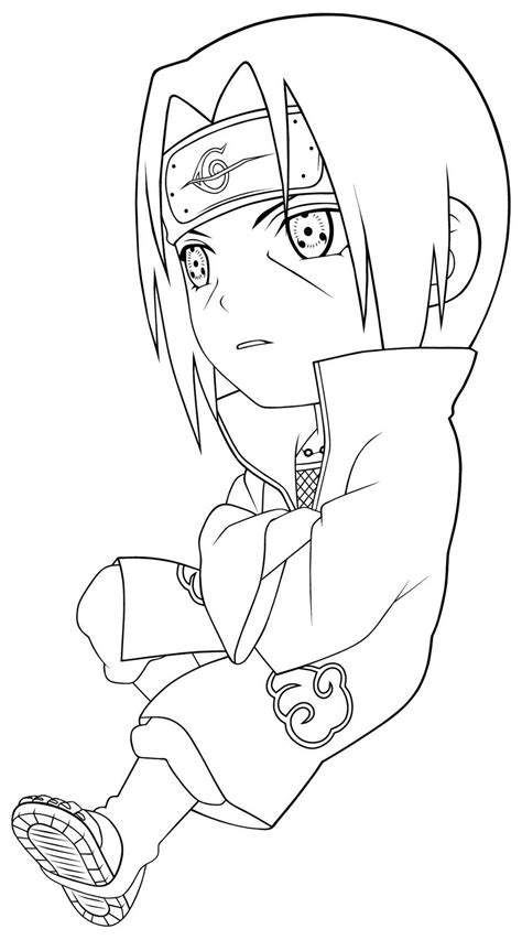 anime coloring pages naruto chibi kakashi coloring pages