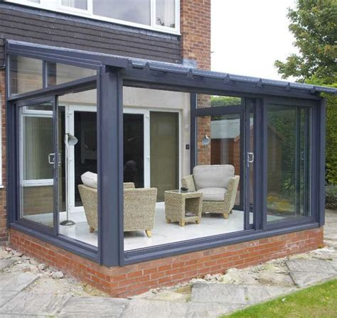 Small Sunroom Cost Best 20 Lean To Conservatory Ideas On Glass