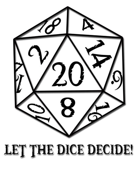 let the dice decide by rubber rainbows on deviantart
