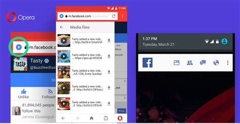 fb opera mini opera mini for android download manager gets automatic