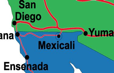 maps mexicali baja california mexicali on map go gringo