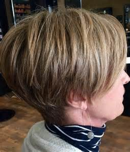stacked haircuts for 50 15 short hairstyles for women over 50