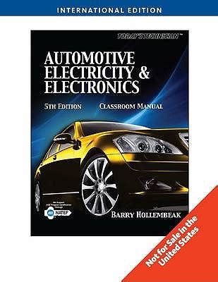 todays technician automotive electricity electronics