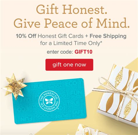 Opentable Coupon Code Gift Card - honest company gift certificate sale 10 off free