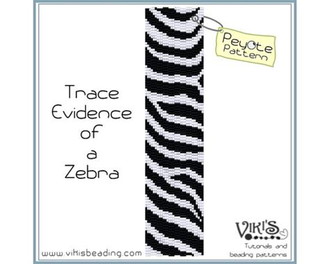pattern of evidence download peyote pattern trace evidence of a zebra by
