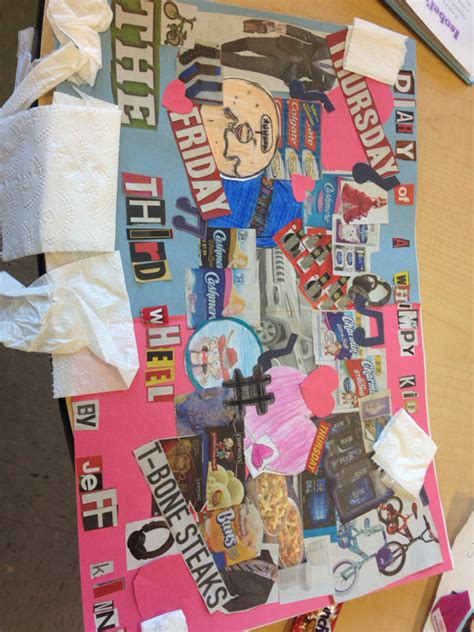 collage book report had to welcome to grade 4