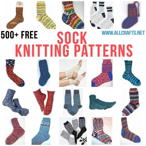 all crafts 500 free sock knitting patterns allcrafts free crafts