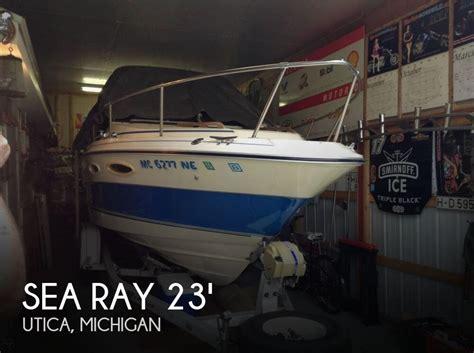 used cuddy cabin boats for sale in michigan sea ray cuddy cruiser srv230 for sale in utica mi for