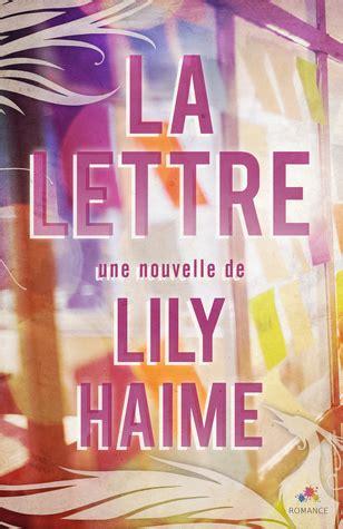 la lettre  lily haime