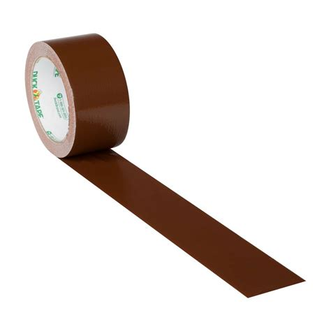 color duct brown 1 88 in x 20 yd duck brand