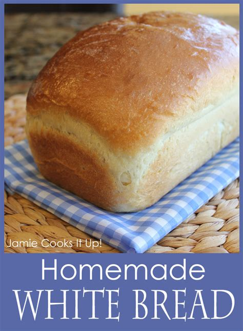 Handmade White Bread - white bread renewed