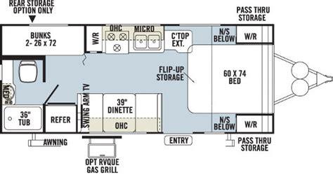 20 foot travel trailer floor plans denver rv rent large travel trailer