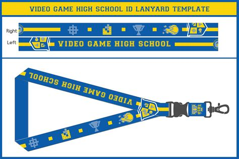 lanyard design template vghs id lanyard by vexvloudz97 on deviantart