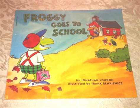 Froggy Goes To School sc children s book froggy goes to school by jonathan