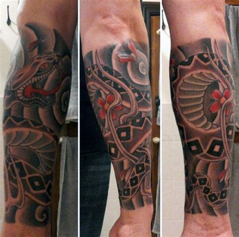 oriental tattoo forearm 100 forearm sleeve tattoo designs for men manly ink ideas