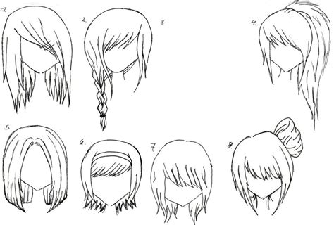 manga hairstyle short long front sides female anime hair 2 by alicewolfnas on deviantart