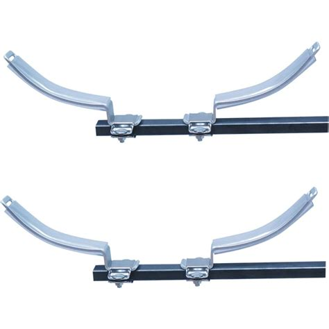 eckla roof rack oval shaped split v bars for kayaks