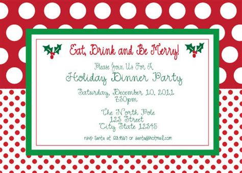 free printable christmas party invitations template best