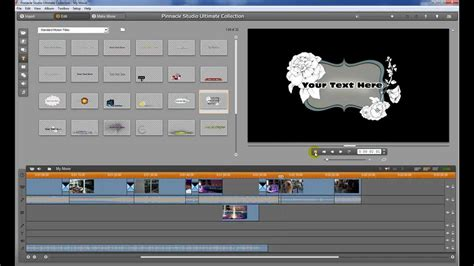 tutorial editing video pinnacle adding motion titles pinnacle studio tutorial basic