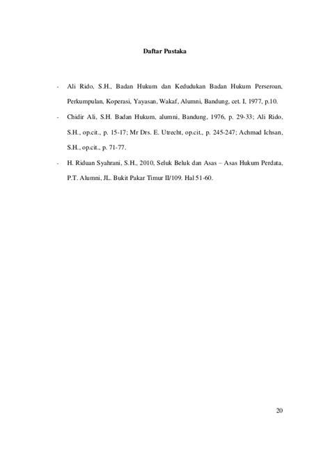 Penafsiran Dan Kontruksi Hukum Penerbit Alumni Bandung badan hukum sebagai subjek hukum dalam kuh perdata